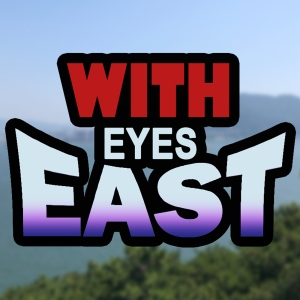 With Eyes East - Logo Apple